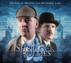 Ordeals of Sherlock Holmes, The cover