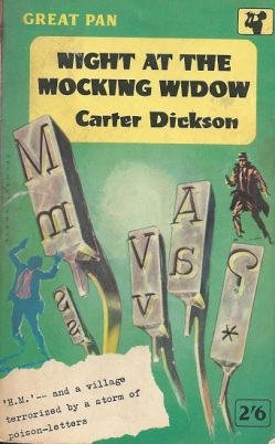 Night At The Mocking Widow