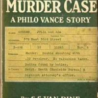 Review 1000 minus 1 - The Greene Murder Case by S S Van Dine