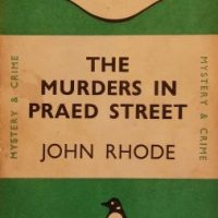 The Murders In Praed Street (1928) by John Rhode
