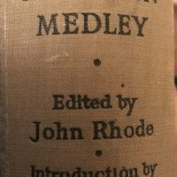 Detection Medley (1939) edited by John Rhode - an introduction